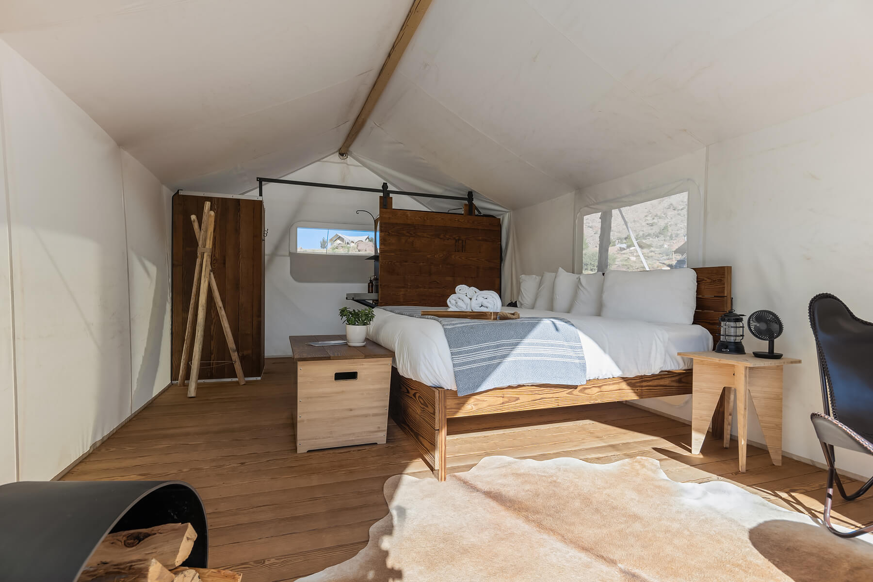 Deluxe Tent at Under Canvas Zion
